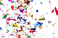 confetti Stockfoto
