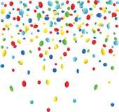 confetti royalty-vrije illustratie