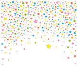 Confetti, backgound Royalty Free Stock Photos