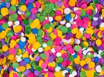 Confetti background Stock Image