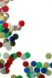 Confetti background. Colored confetti background Stock Images