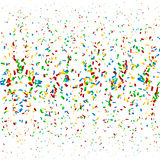 Confetti Background. Colorful  festive confetti background Royalty Free Stock Image