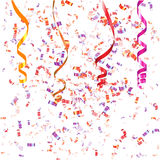 Confetti Background Stock Images