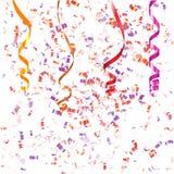Confetti Background. Colorful  festive confetti background Stock Images