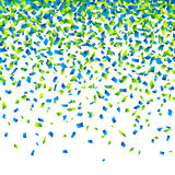 Confetti background Stock Photography