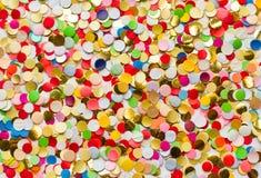Confetti backgrpound Stock Photo