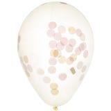 Confetti balloon Stock Images