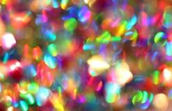 Confetti bożych narodzeń tło Zdjęcia Royalty Free