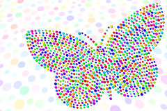 Confetti Butterfly Royalty Free Stock Images