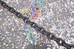 Confetti - carneval Royalty Free Stock Images