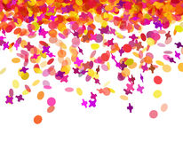 Confetti carnival Royalty Free Stock Image