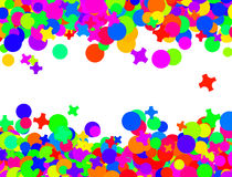 Confetti carnival Royalty Free Stock Images