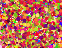 Confetti carnival Stock Photography