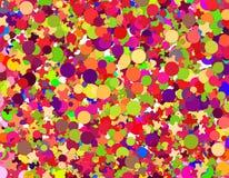 Confetti carnival. Full frame Confetti carnival illustration Stock Photography