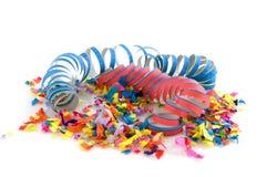 Confetti for carnival Stock Image