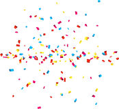Confetti Celebration Background. Stock Photos