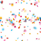 Confetti celebration background. Royalty Free Stock Photography