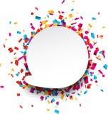 Confetti celebration background. Royalty Free Stock Photos