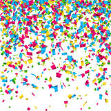 Confetti celebration background. Stock Images