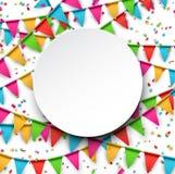 Confetti celebration background. Royalty Free Stock Photo
