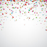 Confetti celebration background. vector illustration