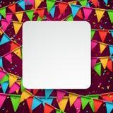 Confetti celebration background. Stock Images