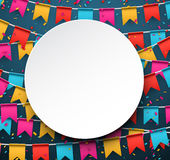 Confetti celebration background. Royalty Free Stock Image