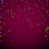 Confetti celebration background Royalty Free Stock Photo