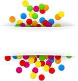 Confetti celebration background Stock Photography