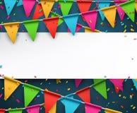 Confetti celebration background Stock Photos