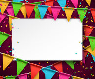 Confetti celebration background Stock Photo