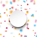 Confetti celebration background. Stock Photography