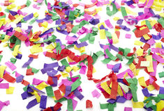 Confetti celebration new year festive Royalty Free Stock Image