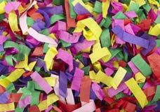 Confetti celebration new year festive Stock Images