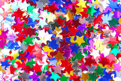 Confetti colorful background Royalty Free Stock Images