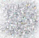 Confetti with colors Royalty Free Stock Photography