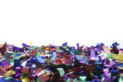 Confetti with copy space Royalty Free Stock Photo