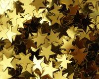 Confetti da forma da estrela Imagens de Stock Royalty Free