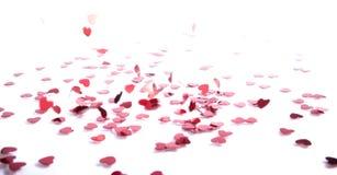 Confetti de queda Fotografia de Stock Royalty Free