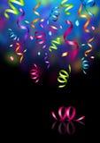 Confetti do partido ilustração royalty free