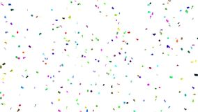 Confetti Everywhere stock video footage