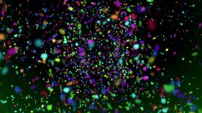 Confetti 1 // 1080p colorful falling paper dots video background loop. Confetti 1 is exactly about what its name implies: lots and lots of realistically animated stock footage