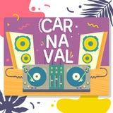 Confetti festive colorful carnival illustration.Vector illustration. Confetti festive colorful carnival illustration.Celebration greeting holiday illustration Stock Image