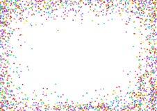 Confetti Frame Stock Image