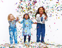 Confetti fun Royalty Free Stock Images