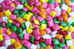 Multi-colored Gum Royalty Free Stock Photo