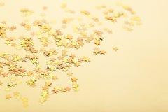Confetti gwiazdy zdjęcie stock