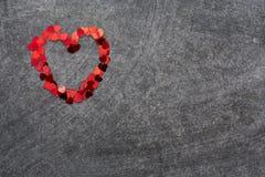Confetti heart Royalty Free Stock Image