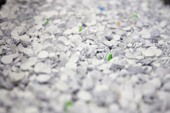 Confetti From Hole Punch. Close up of confetti from hole punch Stock Image