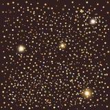 Confetti i światła royalty ilustracja